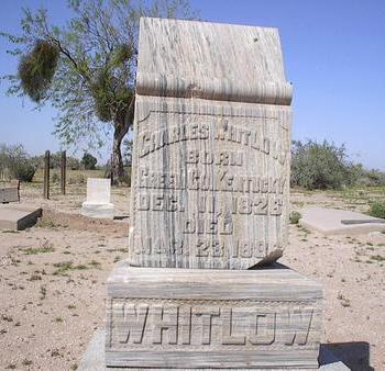 WHITLOW, CHARLES - Pinal County, Arizona | CHARLES WHITLOW - Arizona Gravestone Photos