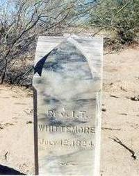 WHITTMORE, REV. I T. - Pinal County, Arizona | REV. I T. WHITTMORE - Arizona Gravestone Photos