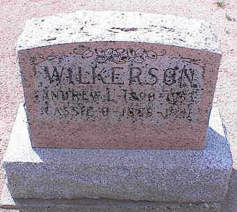 BENSON WILKERSON, CASSIE OLIVE - Pinal County, Arizona | CASSIE OLIVE BENSON WILKERSON - Arizona Gravestone Photos