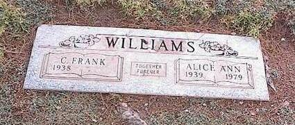 WILLIAMS, C. FRANK - Pinal County, Arizona | C. FRANK WILLIAMS - Arizona Gravestone Photos