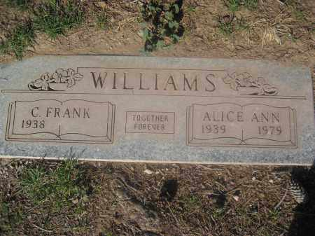 WILLIAMS, C. FRANK - Pinal County, Arizona   C. FRANK WILLIAMS - Arizona Gravestone Photos