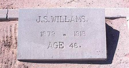 WILLIAMS, JOHN S. - Pinal County, Arizona | JOHN S. WILLIAMS - Arizona Gravestone Photos