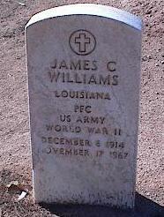 WILLIAMS, JAMES C. - Pinal County, Arizona | JAMES C. WILLIAMS - Arizona Gravestone Photos