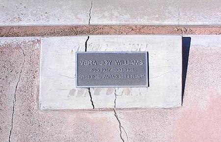 WILLIAMS, VERA JOY - Pinal County, Arizona | VERA JOY WILLIAMS - Arizona Gravestone Photos