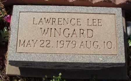 WINGARD, LAWRENCE LEE - Pinal County, Arizona | LAWRENCE LEE WINGARD - Arizona Gravestone Photos