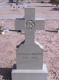 WISDOM, EULALIA C. - Pinal County, Arizona | EULALIA C. WISDOM - Arizona Gravestone Photos