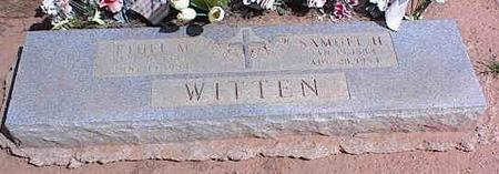 WITTEN, ETHEL M. - Pinal County, Arizona | ETHEL M. WITTEN - Arizona Gravestone Photos