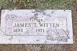 WITTEN, JAMES T. - Pinal County, Arizona | JAMES T. WITTEN - Arizona Gravestone Photos