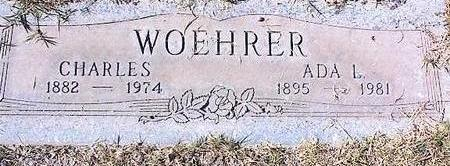WOEHRER, ADA I. - Pinal County, Arizona | ADA I. WOEHRER - Arizona Gravestone Photos