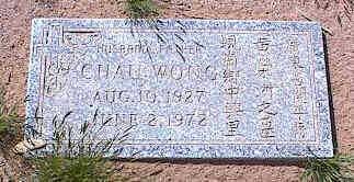WONG, CHAU - Pinal County, Arizona | CHAU WONG - Arizona Gravestone Photos
