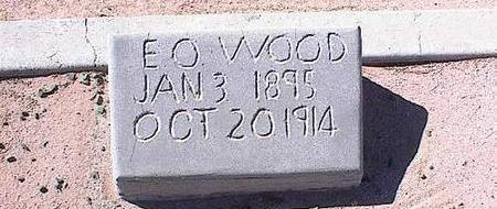WOOD, ELMER O. - Pinal County, Arizona | ELMER O. WOOD - Arizona Gravestone Photos