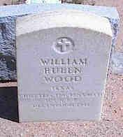 WOOD, WILLIAM RUBEN - Pinal County, Arizona | WILLIAM RUBEN WOOD - Arizona Gravestone Photos