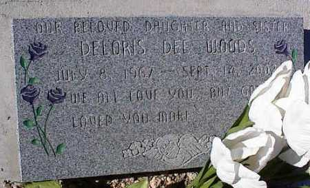 WOODS, DELORIS DEE - Pinal County, Arizona   DELORIS DEE WOODS - Arizona Gravestone Photos