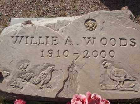 WOODS, WILLIE A. - Pinal County, Arizona | WILLIE A. WOODS - Arizona Gravestone Photos