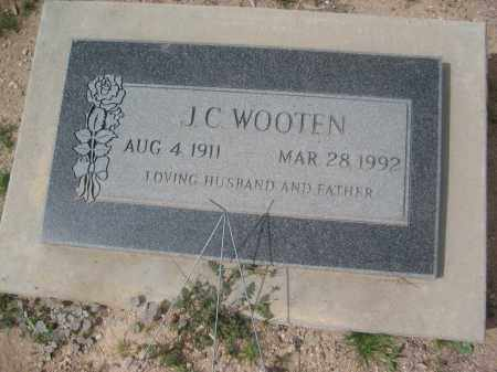 WOOTEN, J.C. - Pinal County, Arizona | J.C. WOOTEN - Arizona Gravestone Photos