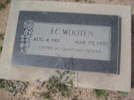 WOOTEN, J.C. - Pinal County, Arizona   J.C. WOOTEN - Arizona Gravestone Photos