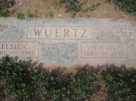 WUERTZ, ELSIE C. - Pinal County, Arizona | ELSIE C. WUERTZ - Arizona Gravestone Photos