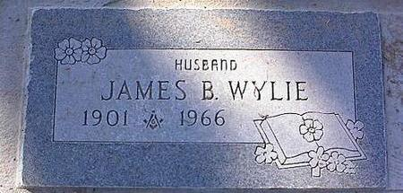 WYLIE, JAMES B. - Pinal County, Arizona | JAMES B. WYLIE - Arizona Gravestone Photos