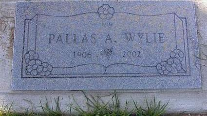 WYLIE, PALLAS A. - Pinal County, Arizona | PALLAS A. WYLIE - Arizona Gravestone Photos