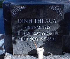 DINH, XUA THI - Pinal County, Arizona | XUA THI DINH - Arizona Gravestone Photos