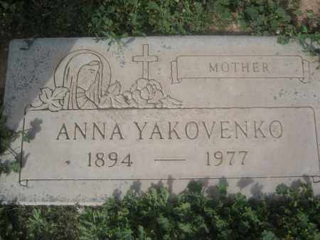 YAKOVENKO, ANNA - Pinal County, Arizona | ANNA YAKOVENKO - Arizona Gravestone Photos