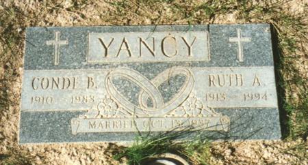 YANCY, CONDE BEE - Pinal County, Arizona | CONDE BEE YANCY - Arizona Gravestone Photos