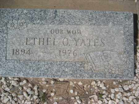 YATES, ETHEL O. - Pinal County, Arizona | ETHEL O. YATES - Arizona Gravestone Photos
