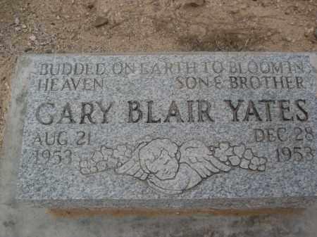 YATES, GARY BLAIR - Pinal County, Arizona   GARY BLAIR YATES - Arizona Gravestone Photos