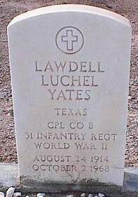 YATES, LAWDELL LUCHEL - Pinal County, Arizona | LAWDELL LUCHEL YATES - Arizona Gravestone Photos