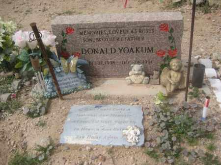 YOAKUM, DONALD - Pinal County, Arizona | DONALD YOAKUM - Arizona Gravestone Photos