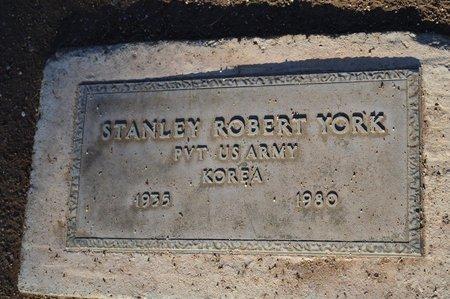 YORK, STANLEY ROBERT - Pinal County, Arizona   STANLEY ROBERT YORK - Arizona Gravestone Photos