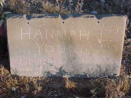 YOUNG, HANNAH LOUISE - Pinal County, Arizona | HANNAH LOUISE YOUNG - Arizona Gravestone Photos