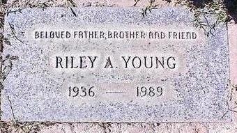 YOUNG, RILEY A. - Pinal County, Arizona | RILEY A. YOUNG - Arizona Gravestone Photos