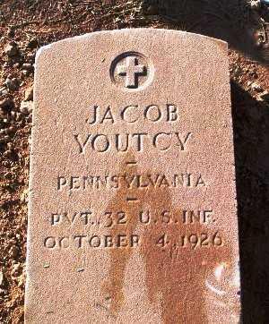 YOUTCY, JACOB - Pinal County, Arizona | JACOB YOUTCY - Arizona Gravestone Photos