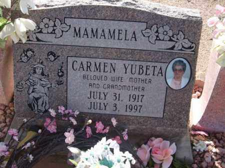 YUBETA, CARMEN - Pinal County, Arizona | CARMEN YUBETA - Arizona Gravestone Photos