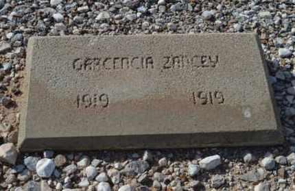 ZANCEY, GARCENCIA - Pinal County, Arizona | GARCENCIA ZANCEY - Arizona Gravestone Photos