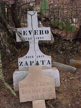 ZAPATA, SEVERO J. - Pinal County, Arizona | SEVERO J. ZAPATA - Arizona Gravestone Photos