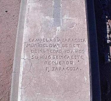 ZARAGOZA, CANDELARIA - Pinal County, Arizona   CANDELARIA ZARAGOZA - Arizona Gravestone Photos