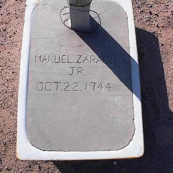 ZARAGUZA, MANUEL, JR. - Pinal County, Arizona | MANUEL, JR. ZARAGUZA - Arizona Gravestone Photos