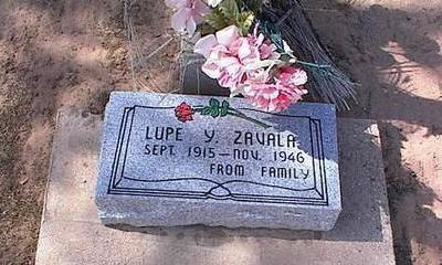 ZAVALA, LUPE Y. - Pinal County, Arizona | LUPE Y. ZAVALA - Arizona Gravestone Photos