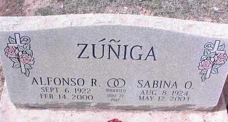 ZUNIGA, SABINA O. - Pinal County, Arizona | SABINA O. ZUNIGA - Arizona Gravestone Photos