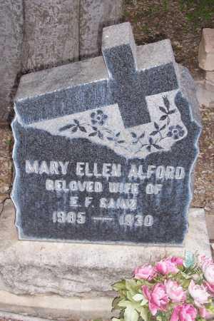 ALFORD, MARY ELLEN - Santa Cruz County, Arizona | MARY ELLEN ALFORD - Arizona Gravestone Photos