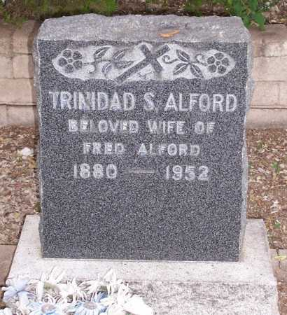 ALFORD, TRINIDAD S. - Santa Cruz County, Arizona | TRINIDAD S. ALFORD - Arizona Gravestone Photos