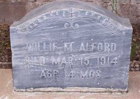 ALFORD, WILLIE M. - Santa Cruz County, Arizona | WILLIE M. ALFORD - Arizona Gravestone Photos