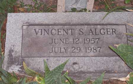 ALGER, VINCENT S. - Santa Cruz County, Arizona | VINCENT S. ALGER - Arizona Gravestone Photos