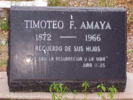 AMAYA, TIMOTEO F. - Santa Cruz County, Arizona   TIMOTEO F. AMAYA - Arizona Gravestone Photos