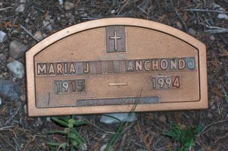 ANCHONDO, MARIA J. - Santa Cruz County, Arizona | MARIA J. ANCHONDO - Arizona Gravestone Photos