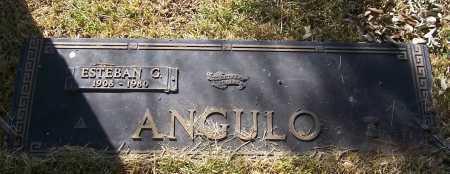 ANGULO, ESTEBAN G. - Santa Cruz County, Arizona | ESTEBAN G. ANGULO - Arizona Gravestone Photos