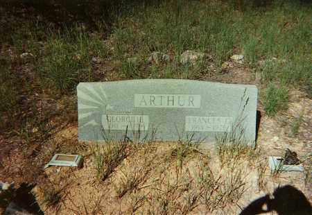 ARTHUR, FRANCES G. - Santa Cruz County, Arizona | FRANCES G. ARTHUR - Arizona Gravestone Photos