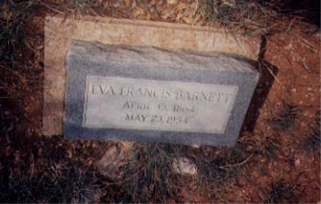 BARNETT, EVA FRANCES - Santa Cruz County, Arizona | EVA FRANCES BARNETT - Arizona Gravestone Photos